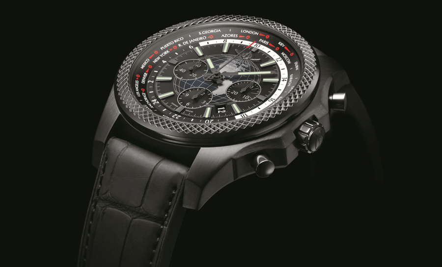 Breitling for Bentley: B05 Unitime Midnight Carbon